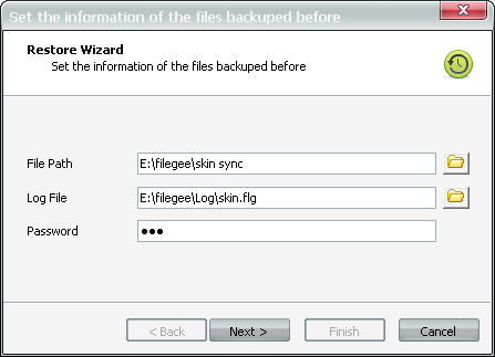 The Original file of Recovery Tool